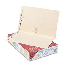 Two Fasteners Straight Cut Top Tabs Folders, 50/Box