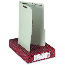 2/5 Right Tab Fastener Folder, 25/Box