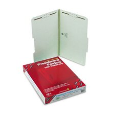 2/5 Top Tab One Inch Expansion Fastener Folder, 25/Box