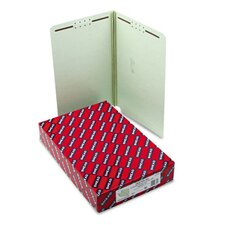 Two Fasteners End Tab Folder, 25/Box