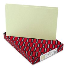 Pressboard Recycled Tab File Guides, 50/Box