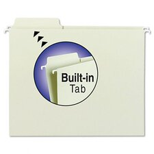 Fastab Hanging File Folders, 1/3 Tab, 20/Box