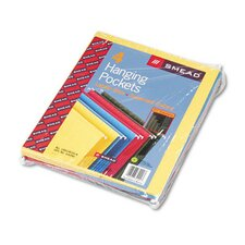 Hanging File Pockets, 4/Pack