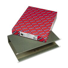Three Inch Capacity Box Bottom Hanging File Folders, Legal, 25/Box