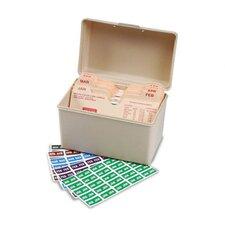 Month End Tab Folder Labels, 3000/Box