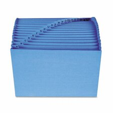 Antimicrobial A-Z Accordion Expanding File