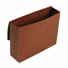 3 1/2 in Expansion Wallets, Redrope, 11 3/4 x 9 1/2, Redrope