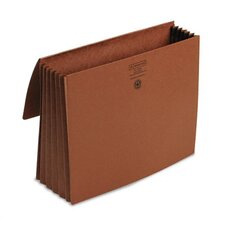 "5 1/5 in Expansion Wallets, Redrope, Letter - 8.5"" x 11"" - 5.25"" Expansion"