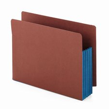 <strong>Smead Manufacturing Company</strong> 5.25 Inch Accordion Expansion File Pockets Straight Tab, Letter, 10/Box