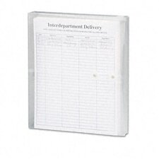 <strong>Smead Manufacturing Company</strong> Poly String & Button Booklet Envelope, 11 5/8 X 9 3/4 X 1 1/4, 5/Pack