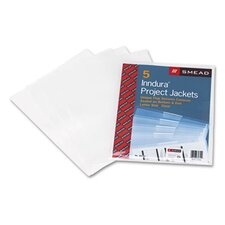 Poly Translucent Project Jackets, 5/Pack