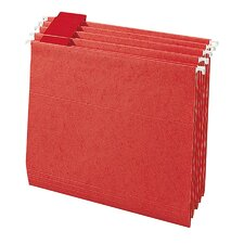 <strong>Smead Manufacturing Company</strong> Colored Hanging Folders, 1/5 Tab Cut, Letter Size, Various Colors