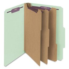 "<strong>Smead Manufacturing Company</strong> Folders, Letter, 3 Partition, 3"" Expansion, Letter, Red/Gray"