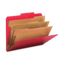 "3"" Expansion Folders with 2/5 Cut Tab, Letter, 10/Box"