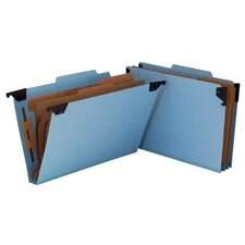Six Section Hanging Classification Folder