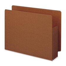 "3.5"" Accordion Expansion File Tuff Pockets, Straight Tab, 10/Box"