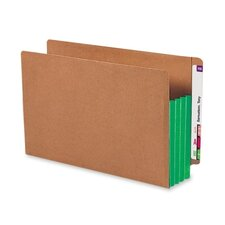 <strong>Smead Manufacturing Company</strong> 3.5 Inch Accordion Expansion File Pockets Straight Tab, Legal, 10/Box