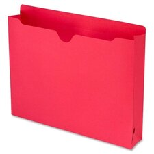"""File Jacket with 2-Ply Tab and 2"""" Accordion Expansion, Letter, 50/Box"""