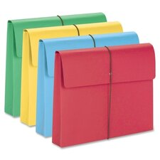 "2"" Accordion Expansion Wallet with Elastic Cord, 50/Box"