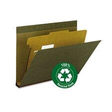Hanging File Folder with Divider  (10 Pack)