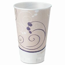 <strong>Solo Cups</strong> Company Symphony Design Trophy Foam Hot/Cold Drink Cups, 750/Carton