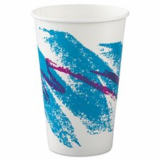 Jazz 16 oz. Paper Cold Cups (Set of 1000)