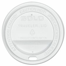 <strong>Solo Cup Company</strong> Traveler Drink-Thru Lids (Set of 300)