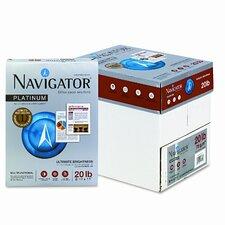 Navigator Platinum Paper, 99 Brightness, 20Lb, 8-1/2 X 11, 2500/Carton