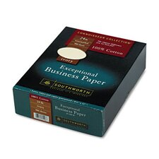 <strong>Southworth Company</strong> 100% Cotton Business Paper, 500/Box