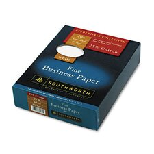 25% Cotton Business Paper, 20 Lbs., 500/Box, Fsc