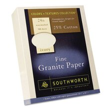 Granite Specialty Paper, 500/Box