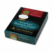 100% Cotton Business Paper, 32 Lbs., 250/Box