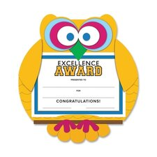 Owl Excellence Award Certificate Kit