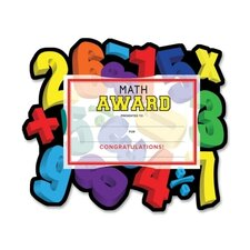 Math Award Certificate Kit