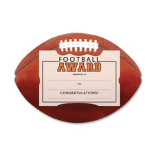 Football Award Certificate Kit