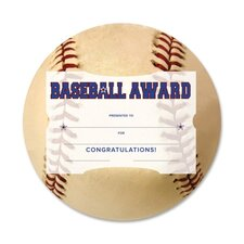 Baseball Award Certificate Kit