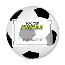 Motivations Soccer Certificate Awards Kit