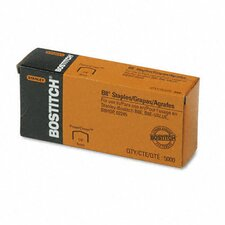 <strong>Stanley Bostitch</strong> Full Strip B8 Staples, 5,000/Box