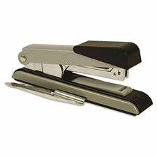 B8 Flat Clinch Stapler, 40 Sheet Capacity, Black