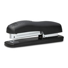 Full Strip Stapler, Standard Staple, 210 Capacity, Black/Burgundy