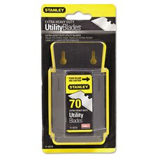 Extra Heavy Duty Utility Knife Blades (Pack of 70)