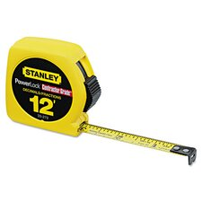 Metal Contractor Grade 12' PowerLock Tape Measure