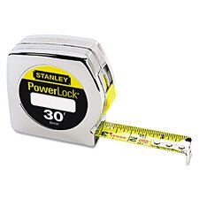 Plastic PowerLock Tape Measure