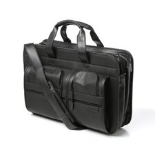 Premium Laptop Cowhide Leather Laptop Briefcase