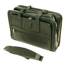 <strong>Stebco LLC</strong> Executive Leather Laptop Briefcase