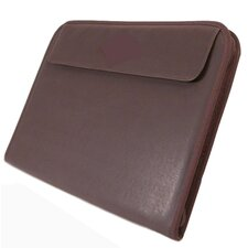 <strong>Stebco LLC</strong> Exquisite Bordeaux Leather Zip Writing Case