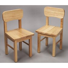 Rounded Kid's Chair (Set of 2)