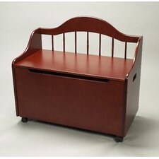 <strong>Gift Mark</strong> Deacon Bench/Toy Chest with Casters