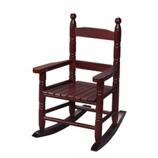 Child's Slat Rocking Chair