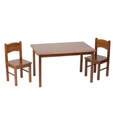 <strong>Gift Mark</strong> Children's 3 Piece Table Chair Set